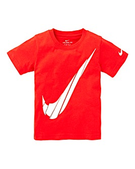 Nike Young Boys Spliced Swoosh T-Shirt
