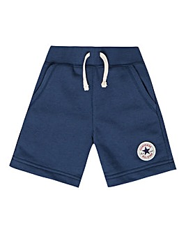 Converse Boys Navy fleece Shorts