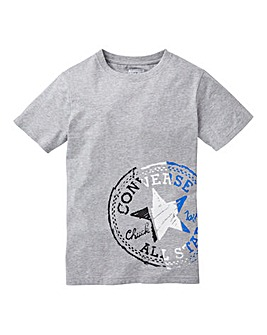 Converse Boys Grey Chuck T-Shirt
