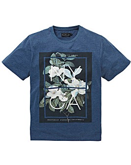 Label J Floral Nyca Tee Long