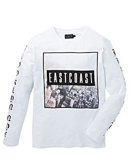 Label J Long Sleeve East Coast Tee
