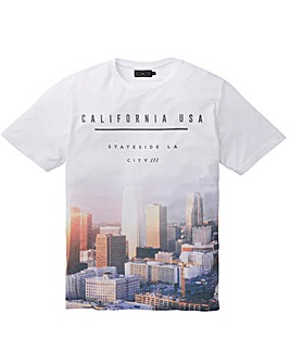 Label J City Print Tee Regular