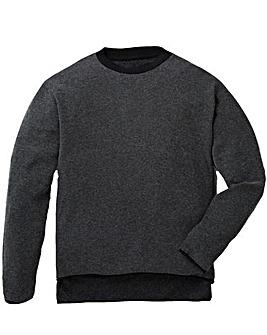 Label J Step Hem Knit Long