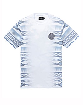 Label J Aztec Fade Tee Regular