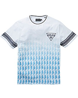 Label J Geo Print Sports Tee Regular