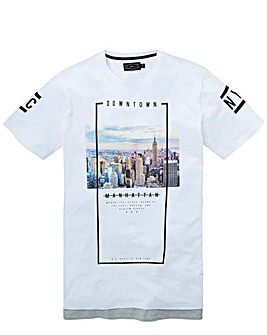 Label J Longline Layer City Tee Regular