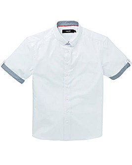 Black Label Plain Trim Shirt Regular