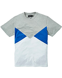 Label J Cut and Sew Panel Tee Long