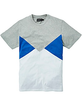 Label J Cut and Sew Panel Tee Regular