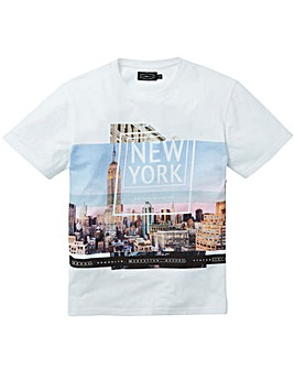 Label J NYC Print Tee Regular
