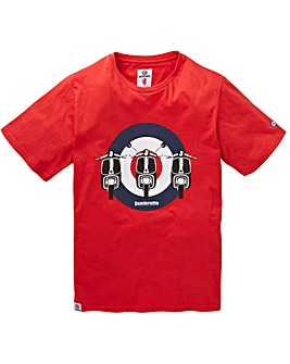 Lambretta Club Classic T-Shirt Long