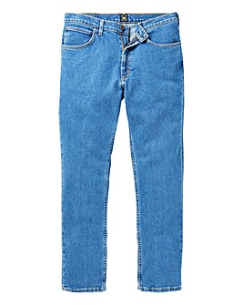 Lee Brooklyn Straight Stonewash Jn 30 In