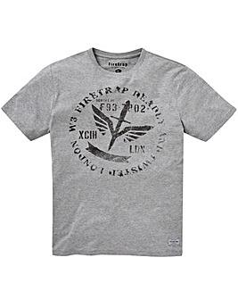 Firetrap Stamped T-Shirt Reg