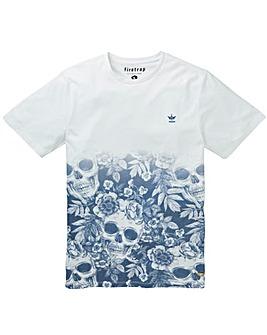 Firetrap Santiago Skull T-Shirt Long