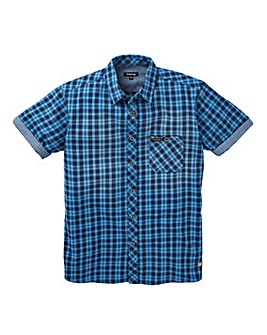 Firetrap Albin Mini Check Shirt Long