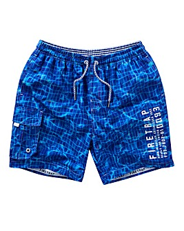 Firetrap Tyler Pool Print Swim Shorts