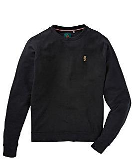 Luke Sport Crew Neck Waffle Sweatshirt
