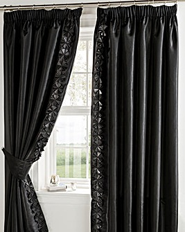 Georgia Lined Curtains & Tie Backs