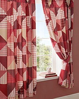 Harrison Lined Curtains & Tie Backs