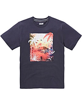 Jacamo Palms Graphic T-Shirt Regular