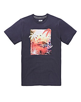 Jacamo Palms Graphic T-Shirt Long