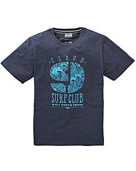 Jacamo Surf Club Graphic T-Shirt Regular