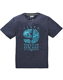 Jacamo Surf Club Graphic T-Shirt Long