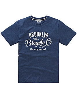 Jacamo Maguire Graphic T-Shirt Long