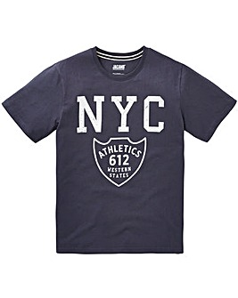 Jacamo NYC Graphic T-Shirt Regular