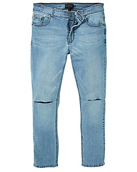 Label J Rip Knee Skinny Jean Regular