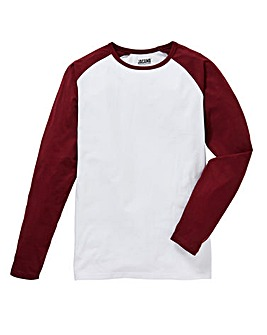 Jacamo L/S Raglan T-shirt Long