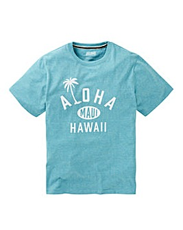 Jacamo Aloha Graphic T-Shirt Long
