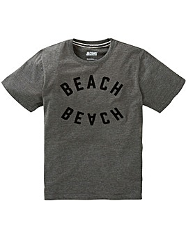 Jacamo Beached Grahic T-Shirt Long