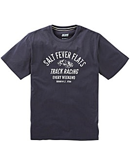 Jacamo Fever Graphic T-Shirt Long