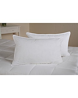 Downland Duck Feather & Down Pillow Pair