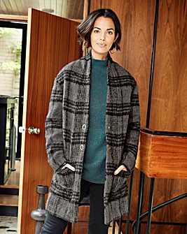 Wool Shawl Collar Coat