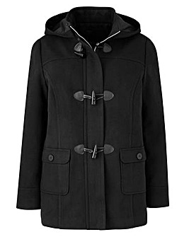 Plain Duffle Coat Length 26in
