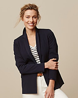 Stitch Detail Tailored Jacket