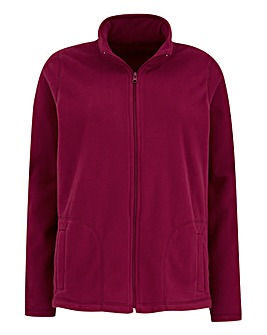 Zip Front Fleece Jacket