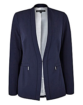 Zip Pocket Tailored Jacket