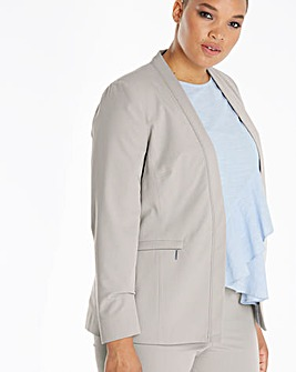 Zip Pocket Tailored Jacket