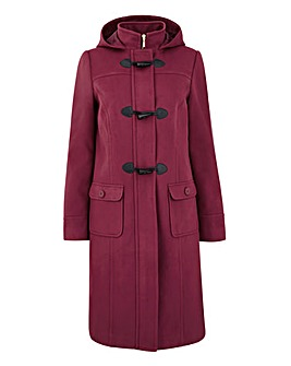 Plain 3/4 Duffle Coat