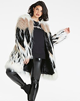 Glam Faux Fur Coat