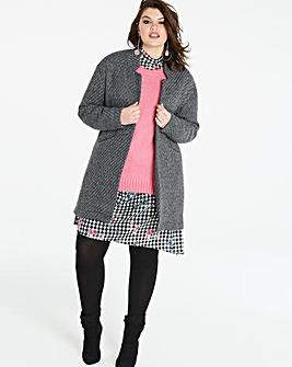 Wool Look Coatigan