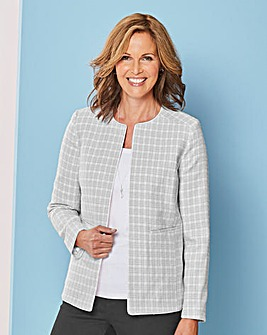 Edge to Edge Textured Blazer