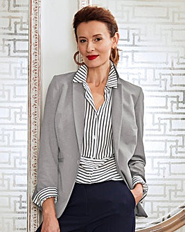 Metal Trim Blazer