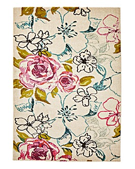 Ducie Floral Rug Large