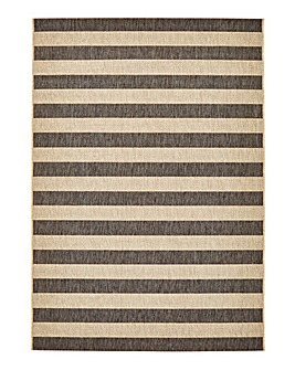 Boston Stripe Flatweave Rug Large