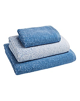 Kempton Ombre Towels Blue