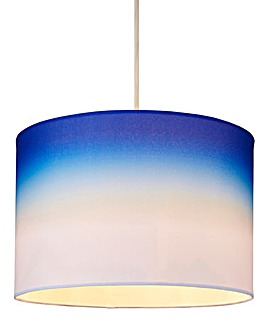 Ombre Pendant Shade Blue
